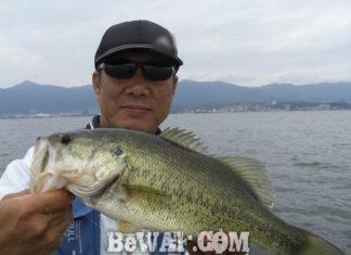 琵琶湖バスフィッシングガイドリポート ~小平様~ 41cm