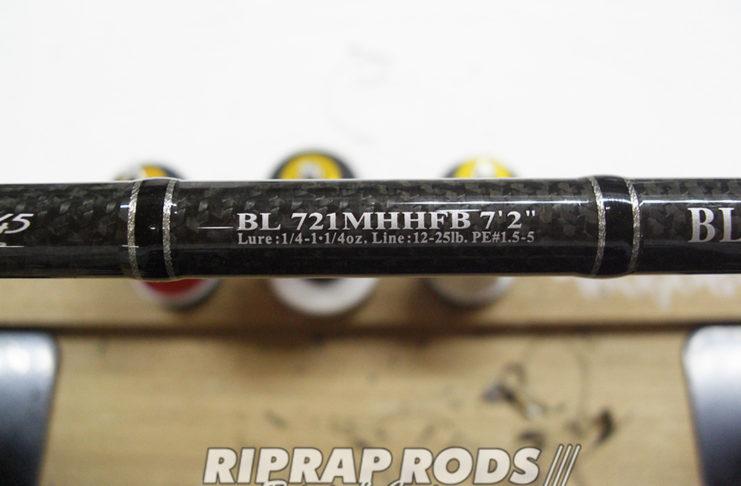 ダイワ ブラックレーベル トップガイド修理値段