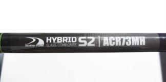 north fork hybrid s2 73mh ロッドカスタム写真