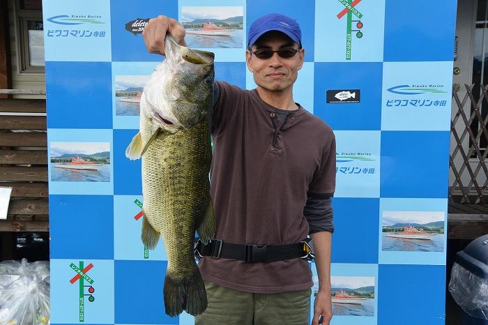 琵琶湖トップ釣果 写真