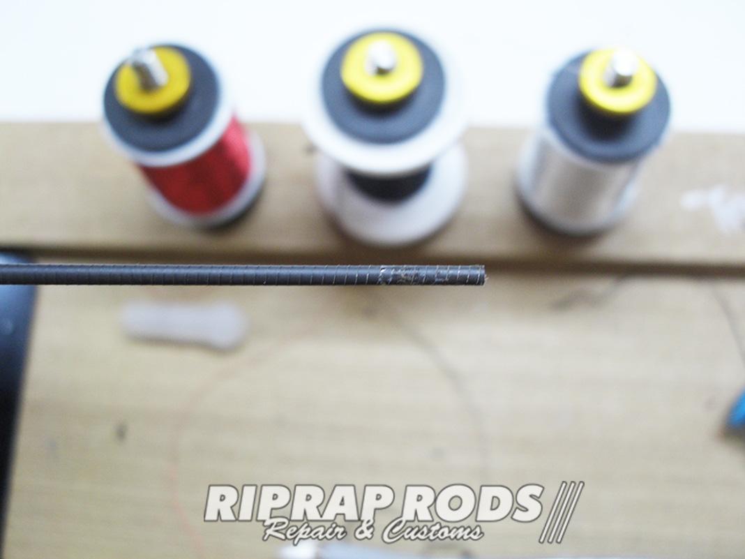 メガバス オロチカイザ SCRAMBLE TOUR F2-68KS ガイド修理写真