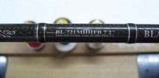 ダイワ ブラックレーベル 721MHHFB ガイド修理写真