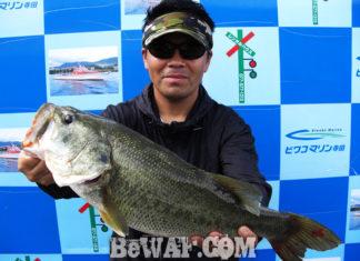 琵琶湖バスフィッシングガイドリポート ~松田様~ 50cm
