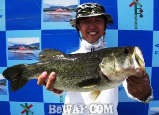 琵琶湖バスフィッシングガイドリポート ~浅野様~ 50cm