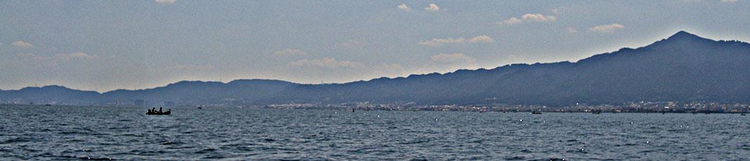琵琶湖 湖上業務 7月15日 写真