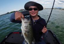 初めてのボートフィッシング 琵琶湖 写真
