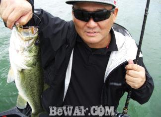 琵琶湖バスフィッシングガイドリポート ~宇佐美様~ 43cm