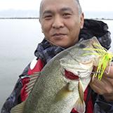 20年前のタックルとルアーで琵琶湖に挑む写真