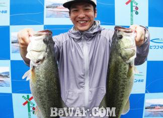 琵琶湖バスフィッシングガイドリポート ~船木様~ 46cm