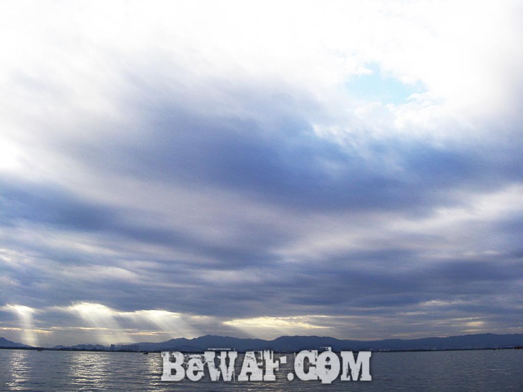 琵琶湖秋のボート釣り 2018年 写真