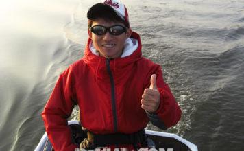 西の湖へ ルアーテスト釣行 写真