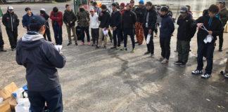 学釣連主催の秋バス釣り大会 参加写真