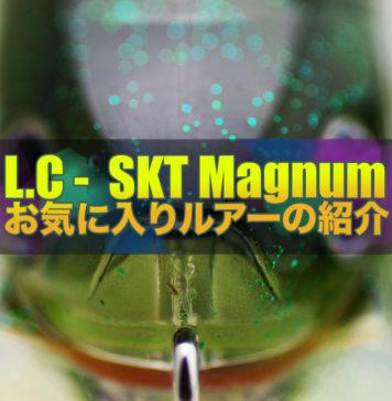 ラッキークラフト社 SKTマグナム110MRインプレ写真