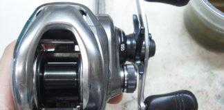 シマノ 15 メタニウムDC クラッチ修理写真