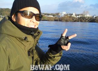 琵琶湖湖上へ (1月8日) 行く人 来る人