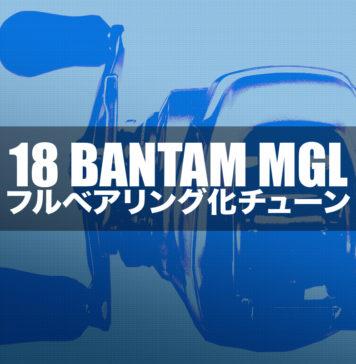 18 バンタム MGL フルベアリング化 写真