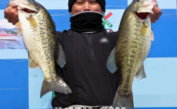 琵琶湖春のテキサスリグ2019年 写真