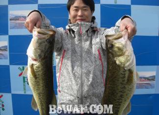 琵琶湖バスフィッシングガイドリポート ~水田様~ 50cm