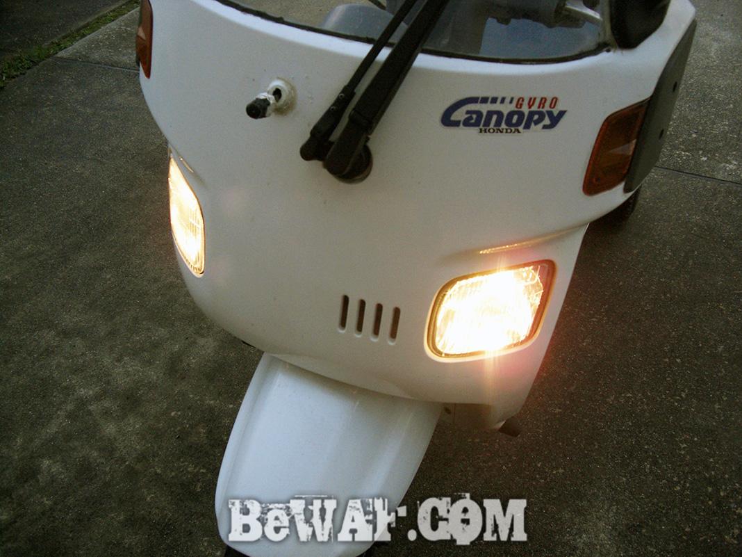 釣りジャイロキャノピー バイクボート 写真