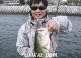 琵琶湖バスフィッシングガイドリポート ~水田様~ 42cm