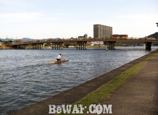瀬田川へ (4月18日) 今週からデカイの釣れるかな?