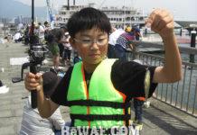 日本釣振興会 2019年 ブルーギル釣り大会写真