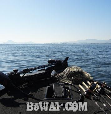 琵琶湖 湖上調査 5月下旬 写真