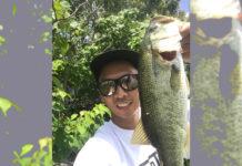 琵琶湖おかっぱり釣果の写真45cm50cm