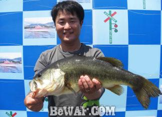 琵琶湖バスフィッシングガイドリポート ~水田様~ 53cm