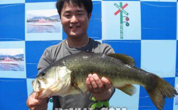 琵琶湖 人工島 2019水路 釣果写真