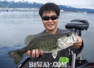 琵琶湖バスフィッシングガイドリポート ~水田様~ 36cm