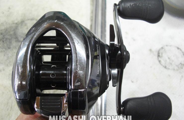 シマノ 18 アンタレスMDXG モンスタードライブギア交換写真