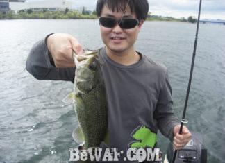 琵琶湖バスフィッシングガイドリポート ~水田様~ 33cm