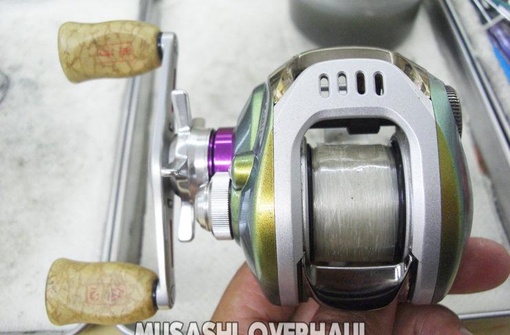 ダイワ TD-ito 103HL メンテナンス修理受付け 写真