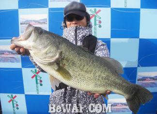 琵琶湖バスフィッシングガイドリポート ~阿部様~ 60cm