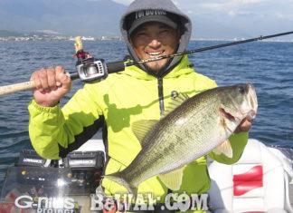 琵琶湖湖上へ (11月16日) ビワコチャンピオン勉強会