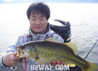 琵琶湖バスフィッシングガイドリポート ~水田様~ 46cm