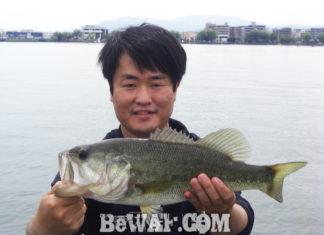 琵琶湖バスフィッシングガイドリポート ~水田様~ 41cm