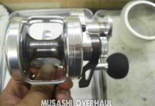 ダイワ キャタリナLD20SH オーバーホールメンテナンス修理写真