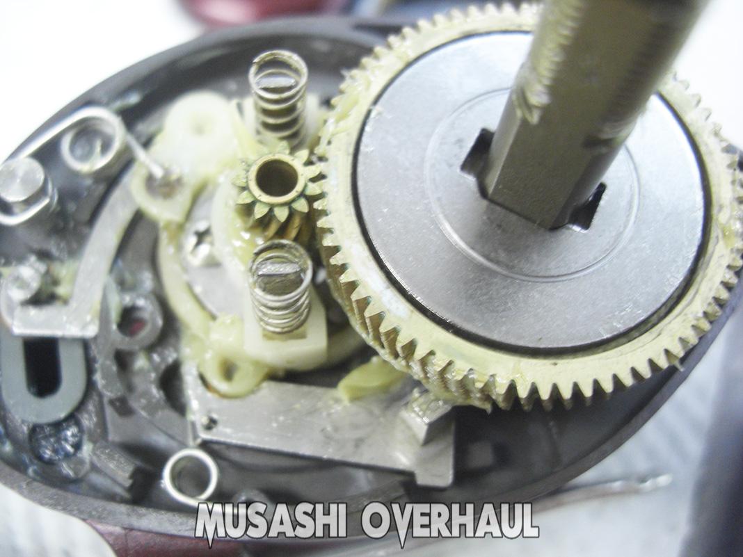 シマノ スコーピオン メタニウムXT メンテナンス修理写真