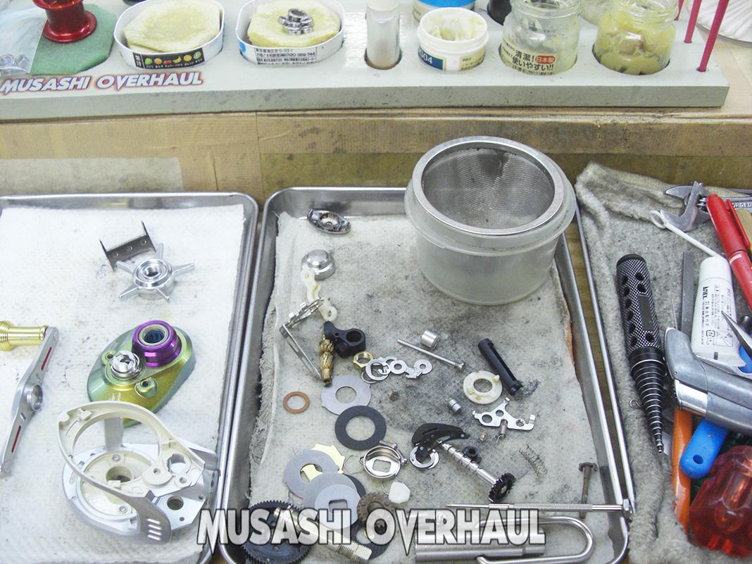 ダイワ メガバス TD-ito103M 修理メンテナンス写真