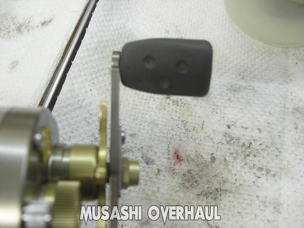 アブ モラム ウルトラマグ SX1600 故障修理 写真