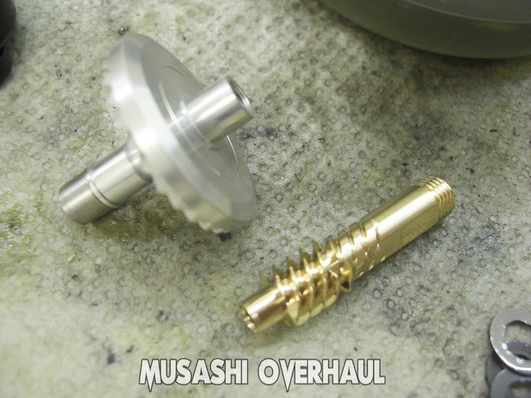 シマノ 19ヴァンキッシュ c3000 修理メンテナンス写真