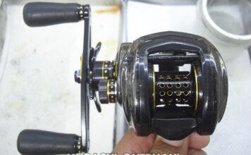 アブレボ ブラック9 クラッチ交換 ベアリング交換写真
