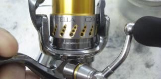 シマノ 07ステラ C2000S オーバーホール修理値段 写真