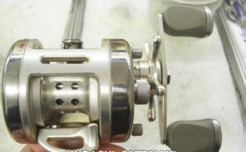 リョービ バリウス M300 リールオーバーホール修理値段 写真