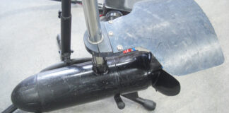 モーターガイド12v24v36v ブラシコミュワイヤー修理写真