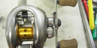 シマノ 07メタニウムmg オーバーホール修理メンテナンス写真