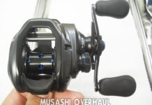 シマノ 19SLX MGL 70HG オーバーホールメンテナンス写真