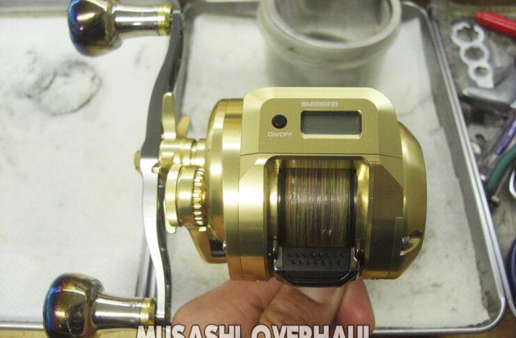 18 オシアコンクエストCT 301HG オーバーホール修理写真